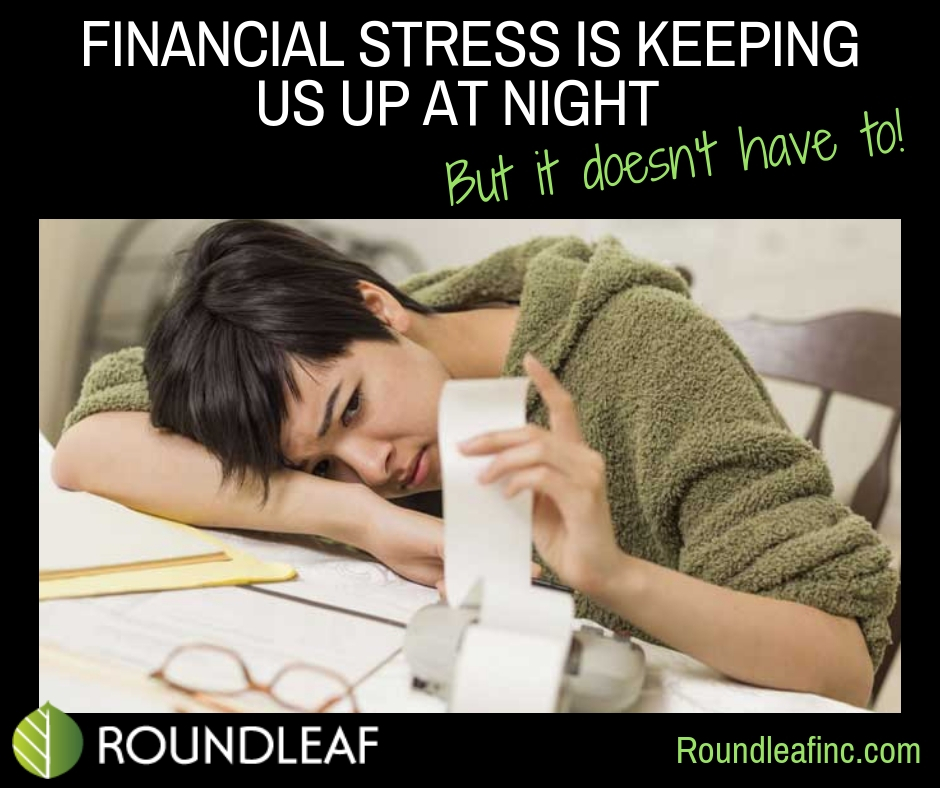Financial stress is keeping us up at night – but it doesn't